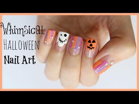 Whimsical Halloween Nail Art | MissJenFABULOUS