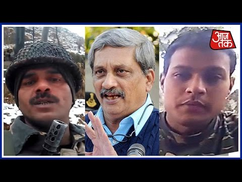 Defence Minister Parrikar Refrains From Speaking On BSF Jawan Viral Video