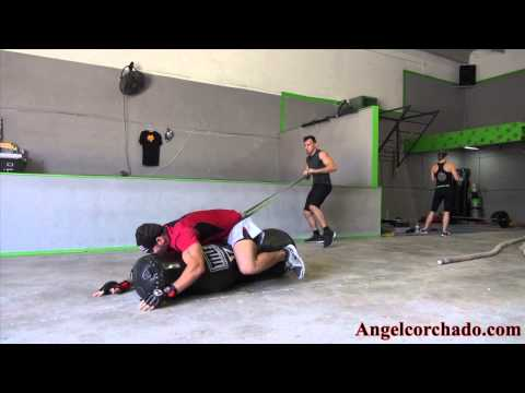 Angel Corchado Ground and pound MMA WORKOUT Image 1