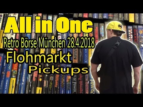 RPS Ep 135 - Retro Börse München 18.4.2018 / Flohmarkt / Pickups