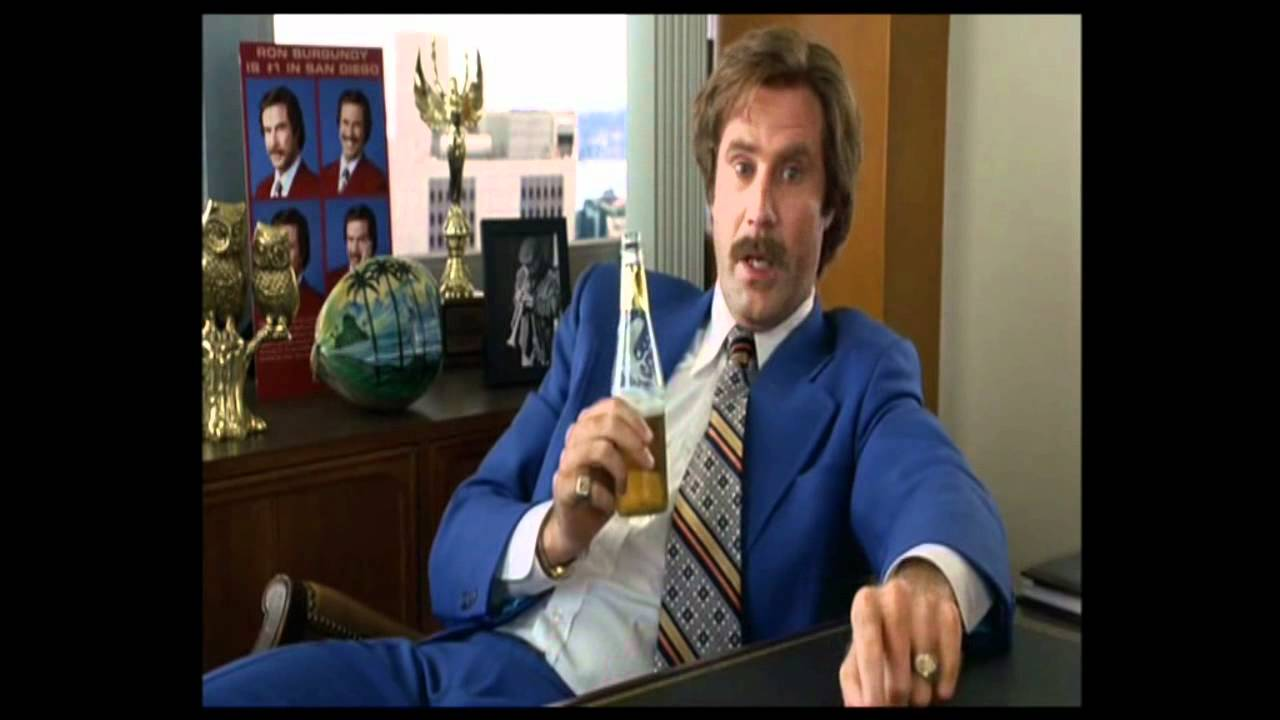Well This Escalated Quickly Meme Ron Burgundy - That Escalated