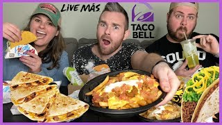 MUKBANG | MASSIVE TACO BELL EATING SHOW