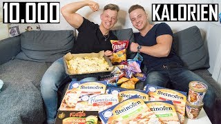 10.000 KALORIEN CHALLENGE | EPIC CHEATDAY | BRO VS BRO