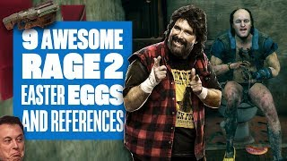 9 Rage 2 Easter Eggs And References You Might Have Missed - DOOM, WWE, ELON MUSK AND MORE!