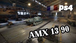 WoT PS4 AMX 13 90 - 7 день Марафона  D1 [18+]