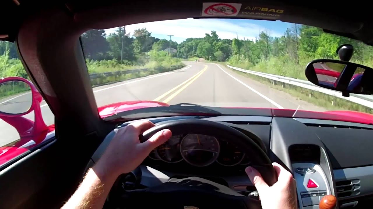 2005 Porsche Carrera Gt Wr Tv Pov Test Drive Youtube