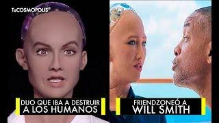 31 COSAS de SOPHIA, LA ROBOT que ÂMÊNÂZÓ a la HUMANIDAD y BATEÓ a WILL SMITH
