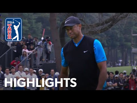 Tiger Woods edges closer to 82nd PGA TOUR title | Round 3 | ZOZO 2019