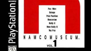 Namco Museum Vol. 1 music - Galaga game room