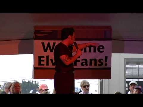 Franz Goovaerts talking about the Candle Light Vigil at Elvis Week 2007 (video)