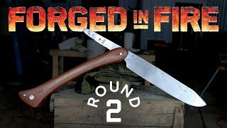 FORGED IN FIRE CHALLENGE! - Round 2