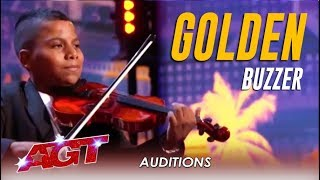 Tyler Butler-Figueroa: THE MOST INSPIRING CHILD AUDITION EVER!!! | America's Got Talent 2019