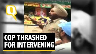 The Quint: Traffic Cop Thrashed and Abused by Unidentified Man