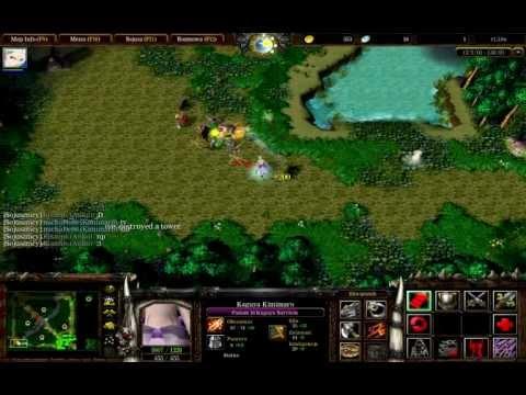 Warcraft III: Naruto Wars Unlimited v1.3.9b - część 1 [GAMEPLAY]
