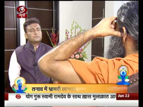 Exclusive Interview with Yoga guru Baba Ramdev