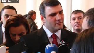 Glxavor dataxaze Marti 1-i, Aghvan Hovsepyani haytararutyunneri masin - 30.10.2014