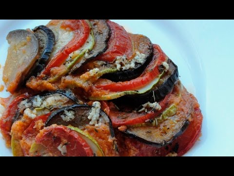 Рататуй - вкусные запеченные овощи по-французски
