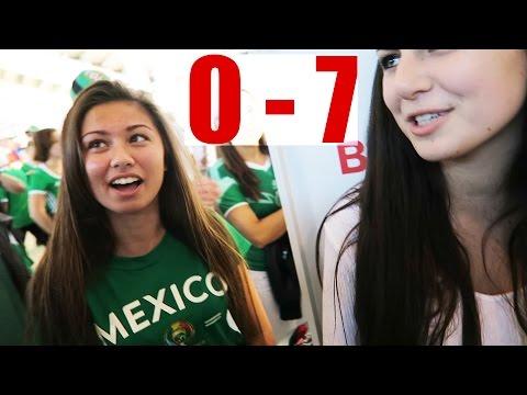 Mexico vs Chile! 0-7 (ME SIENTO HUMILLADO) HotSpanish Vlogs