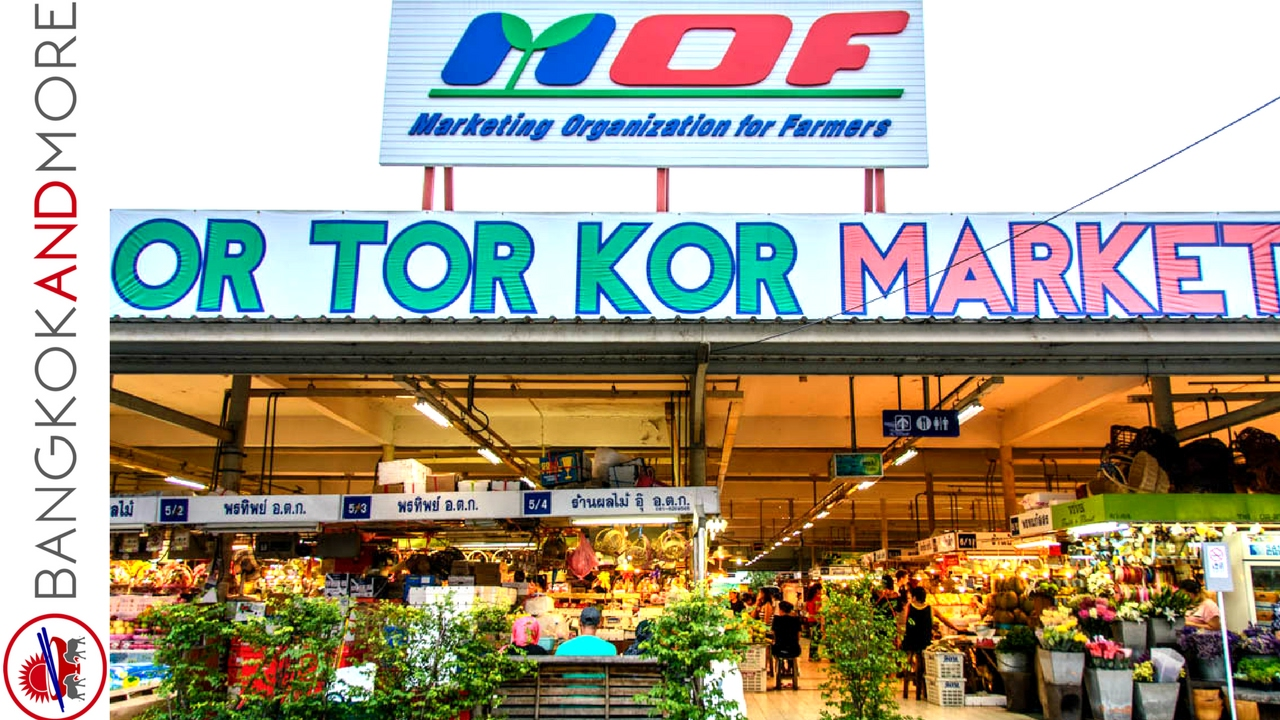 Or Tor Kor Market Bangkok Youtube