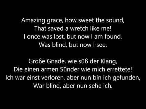 John Newton - Amazing Grace - Free Download - Lyrics English/German