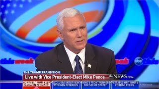 George Stephanopoulos grills Mike Pence on Trump voter-fraud claim