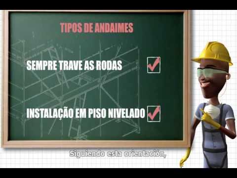 Proyecto Serie 100% Seguro | Andamios y Escaleras (Subtítulos en Español)