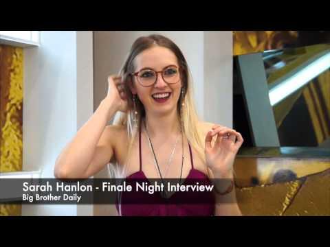Sarah Hanlon - Big Brother Canada 3 Finale Interview