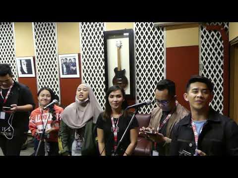 RECORDING LIVE MUSIC #TEAMMALAYSIA AT PT MUSICA STUDIO,JAKARTA #DAcademyAsia3 ,21102017 [FULL HD]