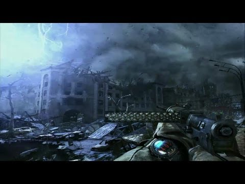 (E3)Metro:Last Light 17 minutos gameplay