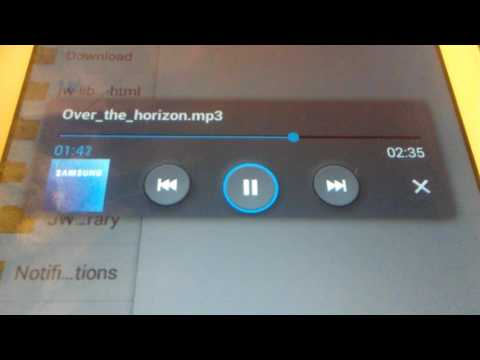 Samsung Galaxy Ringtone - Over the Horizon (Music) mp3