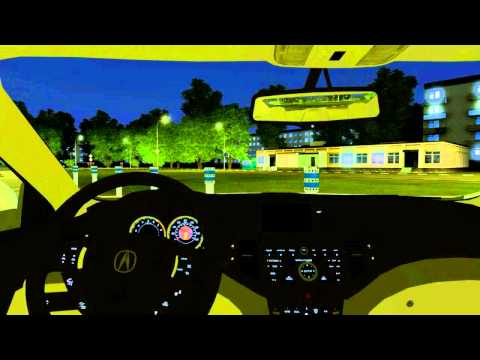 3D Инструктор 2.2.6 (City Car Driving) - мод Acura TSX (honda accord) 3d