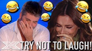 Try Not To Laugh Challenge! HILARIOUS X Factor Auditions | X Factor Global