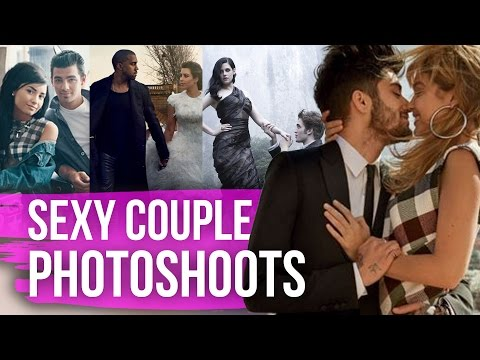 Sexiest Celebrity Couples Photoshoots (Dirty Laundry)