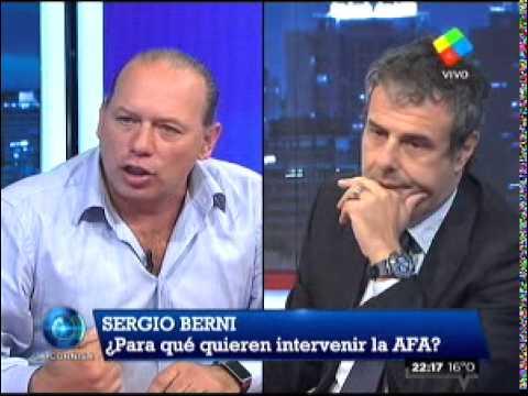 Caliente debate entre Ari Paluch y Sergio Berni