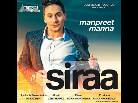 Siraa    Manpreet Manna    Latest Punjabi Song 2015    Desi Beats Records video