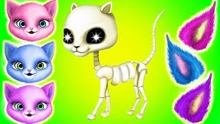 Play Fun Kitten Care Kids Game - Cat Hair Salon Birthday Party - Fun Pet Care Dress Up Makeover Game