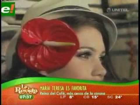 María Teresa Roca favorita en Colombia  Viva Bolivia