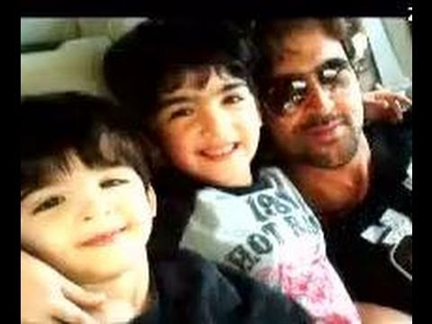 Hrithik Roshan is the perfect family man