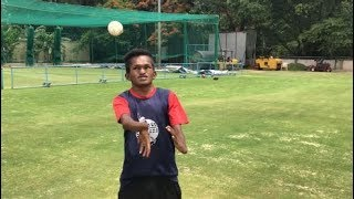 Meet Shankar Sajjan: Afghanistan's special nets bowler