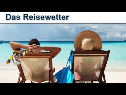 Das Reisewetter vom Reisebüro Bachmann