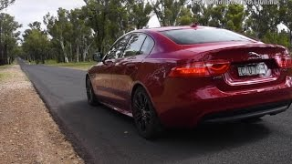 2016 Jaguar XE R-Sport (20t) 0-100km/h & engine sound