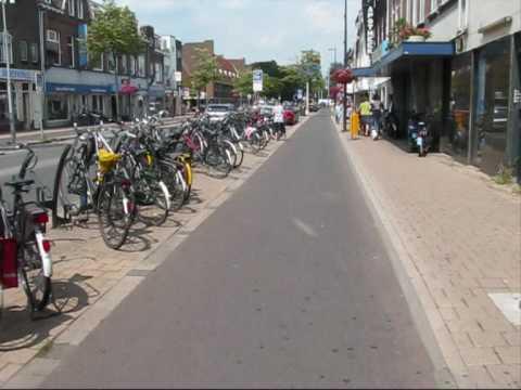 Cycling Amsterdamsestraatweg, Utrecht, Netherlands