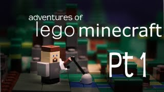 Adventures of Lego Minecraft Pt 1