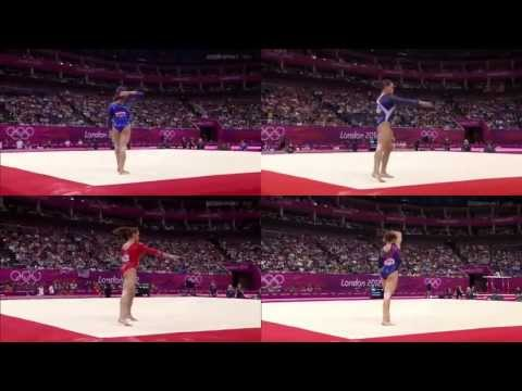 Vanessa Ferrari: Floor Olympic Games 2012