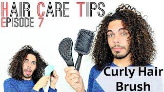 Hair Care Tips S02E07 Best Detangling Brush For Curly Hair / How To Detangle Safely