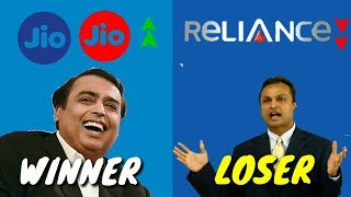 ® ✅ JIO Vs Reliance Telecommunication    Why Jio Success & Reliance Failed   A Case Study