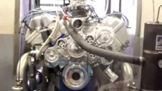 Boss 429 explodes on the dyno