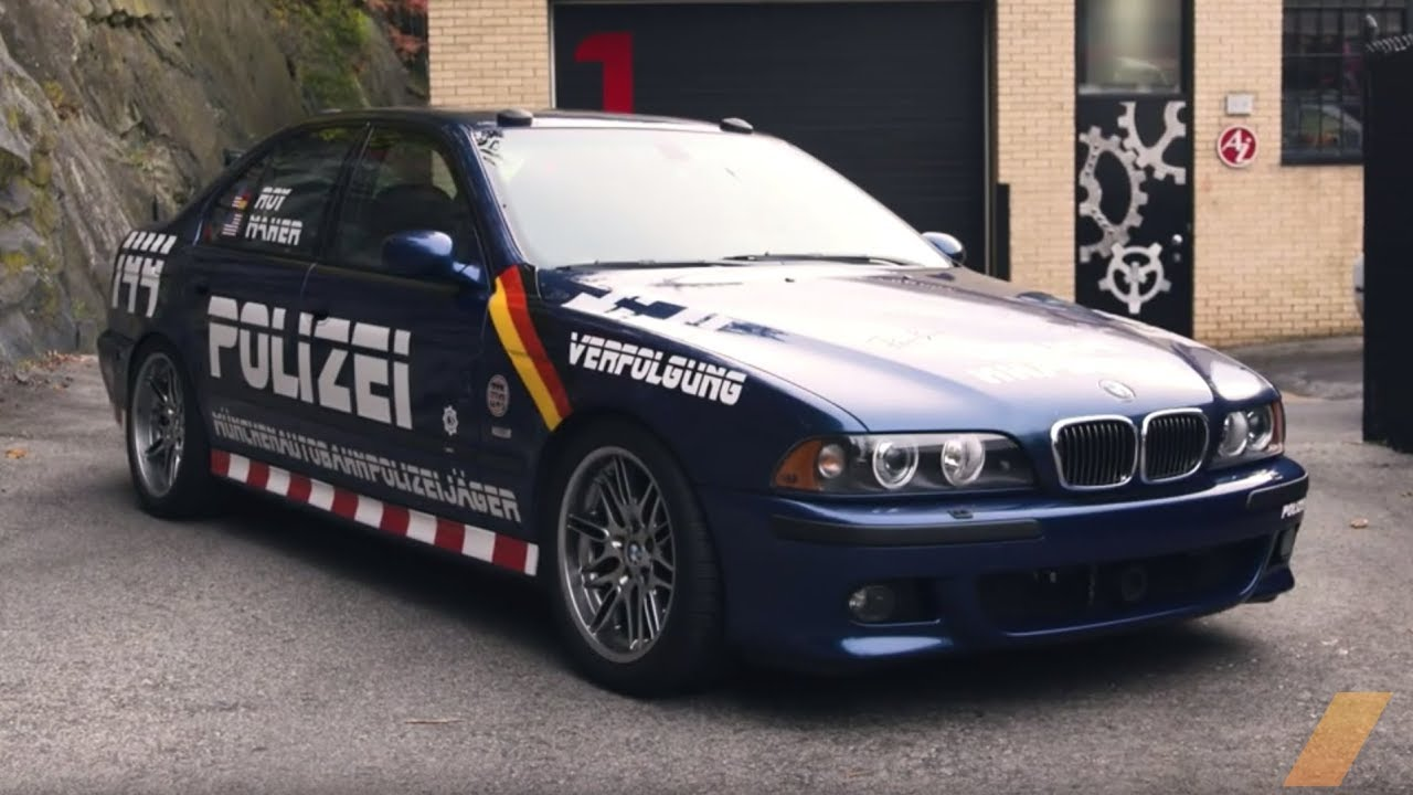 BMW M5 E39 Time-Capsule Tech That Set the Coast-to-Coast Record  -- AFTER/DRIVE