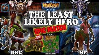 Grubby   Warcraft 3 TFT   1.30   ORC v NE on Last Refuge - The Least Likely Hero
