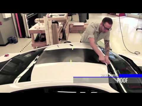 2015 Ford Mustang Solid Stripe Install